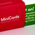 Minicards are now available